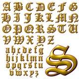 Spezieller Designsatz ABC-Alphabetes Lizenzfreie Stockfotos