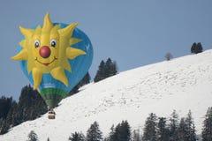 Spezieller Form-Ballon an der Festival-Chateau-Damhirschkuh Lizenzfreie Stockbilder