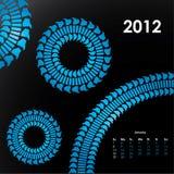 Spezieller Kalender für 2012 Stockfotos