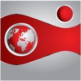 Spezieller roter Hintergrund Stockbilder