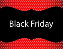 Spezieller schwarzer Freitag-Hintergrund stock abbildung