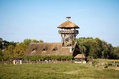 Spezielles Naturreservat Zasavica Lizenzfreies Stockfoto
