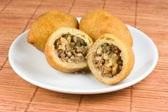 Spezielles türkisches Fleischklöschen, Icli Kofte Lizenzfreies Stockbild
