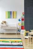 SpFull de chambre d'enfant de couleurs Photographie stock