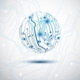 Sphère électrique Image libre de droits