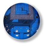 Sphère électronique image stock