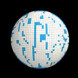 sphère 3D illustration de vecteur