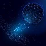 Sphère abstraite de vecteur Images stock