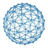 Sphère abstraite rendu 3d Image stock