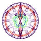 Sphère avec des courbes Images libres de droits