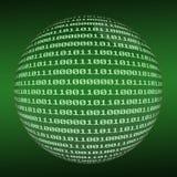 Sphère binaire Images stock