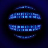 Sphère binaire Photos stock