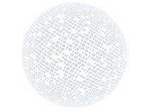 Sphère binaire Photos libres de droits