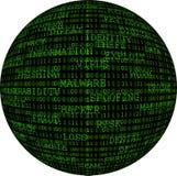 Sphère binaire Photographie stock