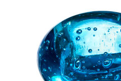 Sphère bleue Photos libres de droits