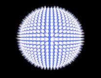 Sphère bleue image libre de droits