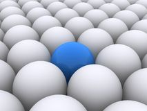 Sphère bleue illustration libre de droits