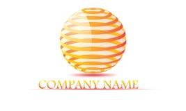 Sphère, cercle, logo, global, abstrait, affaires, société, société, infini, ensemble de conception ronde de symbole d'icône Photos libres de droits