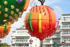 Sphère colorée Photo libre de droits