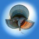 sphère d'émission d'anhydride carbonique Image stock
