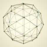 Sphère 3D abstraite Photos libres de droits
