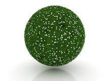 Sphère d'herbe verte Photo libre de droits