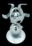 Sphère de chrome illustration de vecteur