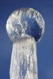 Sphère de glace Images libres de droits