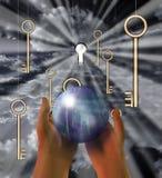 Sphère de la terre image libre de droits