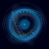 Sphère de navigation d'espace d'imagination. Photo libre de droits