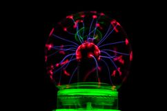 Sphère de Tesla Image stock