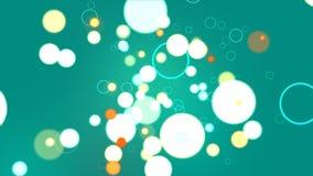 Sphère de turquoise abstraite Image stock
