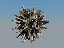 Sphère de ville Images stock