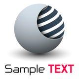Sphère des affaires 3D de logo illustration libre de droits
