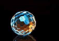 Sphère en cristal 3 de coupure de magie Images libres de droits