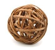 Sphère en osier Images stock