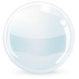 Sphère en verre Photos stock
