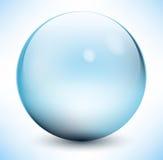 Sphère en verre Images libres de droits
