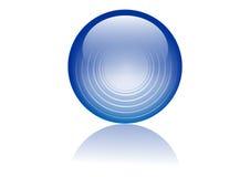 Sphère en verre Photographie stock libre de droits