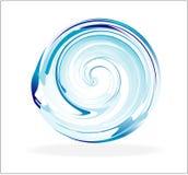 sphère en verre abstraite Images stock
