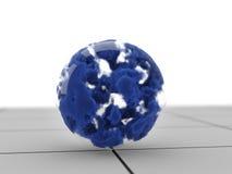 Sphère en verre magique illustration stock