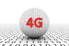 sphère 4G conceptuelle Photographie stock libre de droits