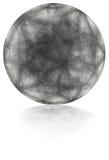 Sphère grise Photo libre de droits