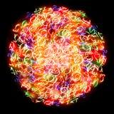 Sphère légère Image stock