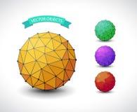 Sphère moléculaire illustration de vecteur