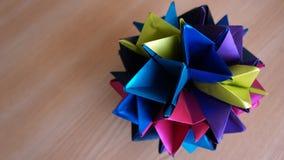 Sphère piked d'origami Images libres de droits