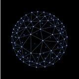 Sphère reliée illustration libre de droits