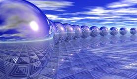 Sphères Illustration Stock