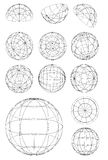 Sphères Photographie stock