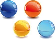 sphères 3d illustration de vecteur